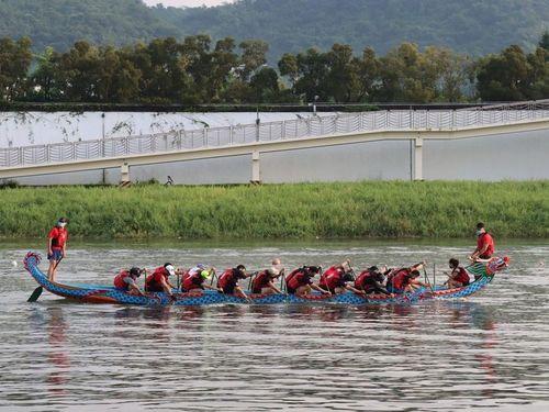 台北ドラゴンボートレース無事終了、152チーム参加 前年の2倍近く