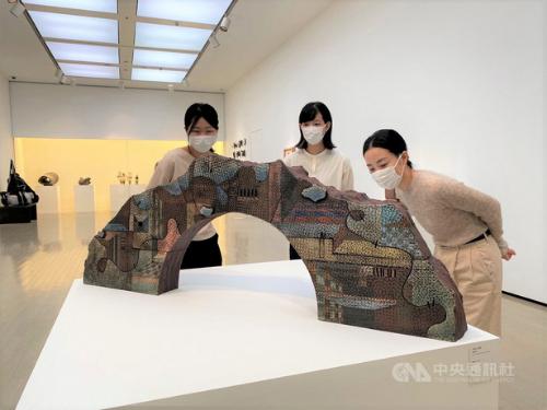 台湾の陶芸作品86点が日本で展示中