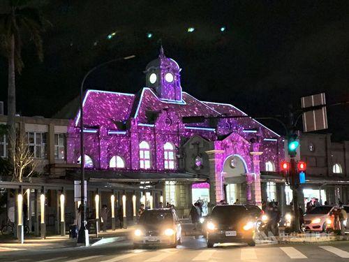 新竹市で光の饗宴、65組の芸術家が映像で表現力競う