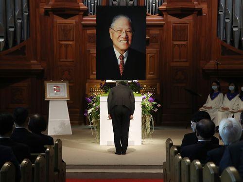 蔡総統「民主主義と自由を台湾に残してくれた」 李登輝氏を追悼