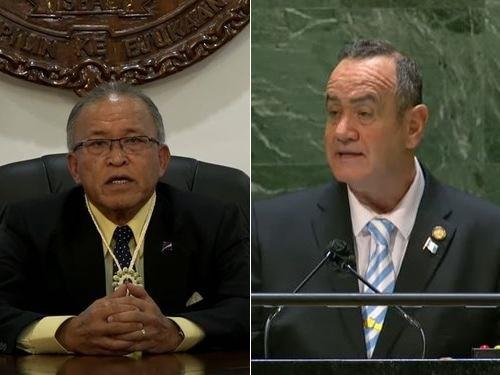 国連総会 マーシャル諸島とグアテマラが台湾の国連参加を支持