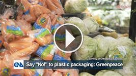 """Say """"No!"""" to plastic packaging: Greenpeace"""