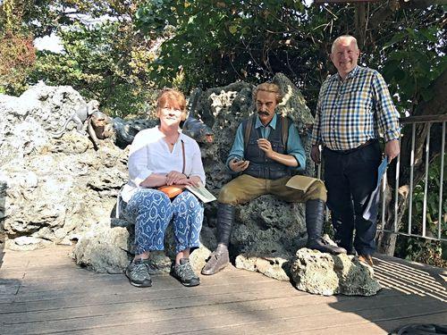 Descendant of British diplomat Swinhoe travels back in time