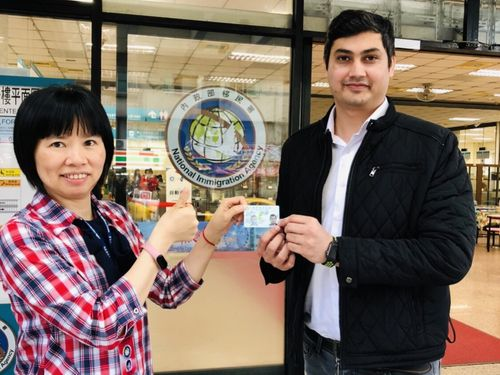 Plum Blossom Card holder praises Taiwan as Muslim friendly