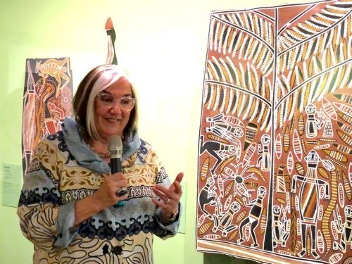 Australian Aboriginal bark art exhibition opens in Taipei