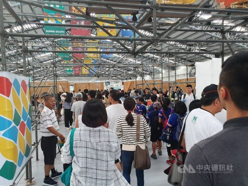 Record 200,000 people show up on opening day of Taiwan Design Expo