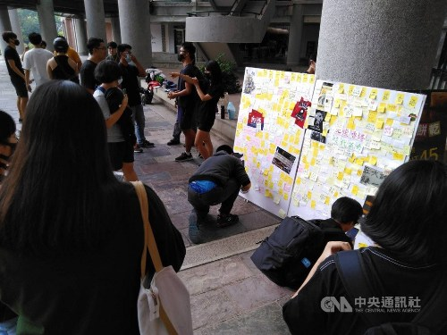 Chinese students mum on Hong Kong, but some willing to speak out
