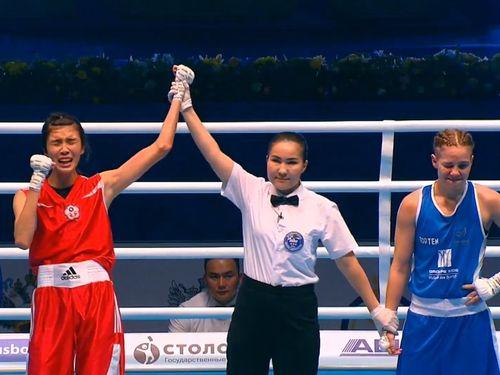 Taiwanese boxer wins gold at world championships