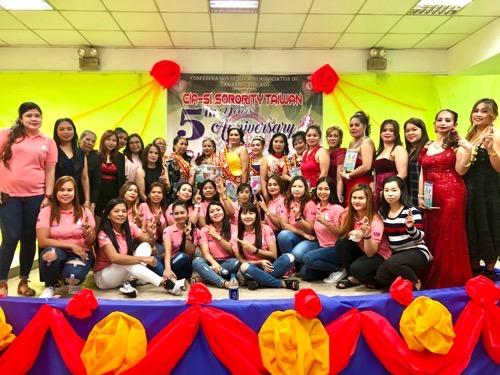 Filipino community in New Taipei celebrates women over 40
