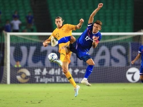 Taiwan loses to Australia; 3rd loss in World Cup football qualifier
