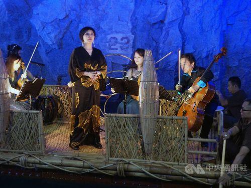 Kinmen music festival opens in former military waterway