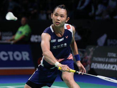 Taiwan's world No. 1 retains badminton title in Denmark
