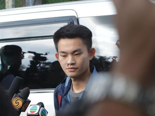 HK suspect wanted for murder reiterates wish to surrender