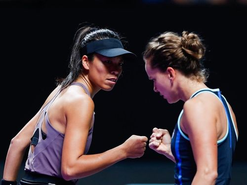 Taiwan's Hsieh into semis of WTA Finals doubles