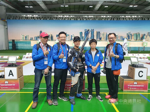 Taiwanese sport shooter qualifies for 2020 Olympics