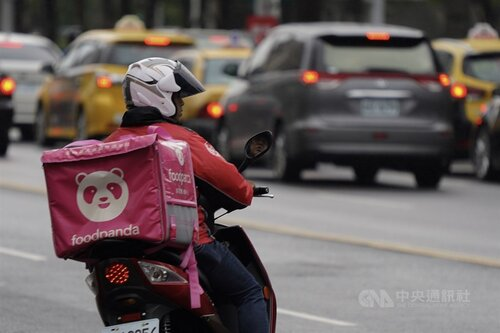 Less than half of food couriers support formal employee status