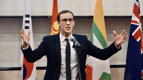 Kiwi student wins Mandarin public speaking contest in Taipei