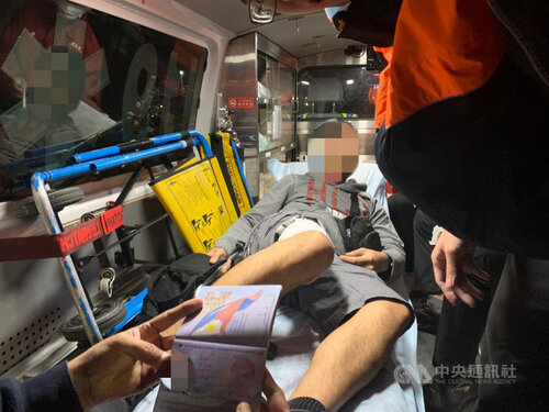 Injured Filipino on Liberian boat transported to Taiwan hospital