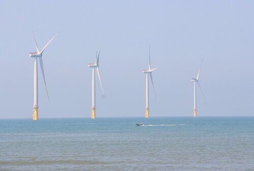 New wind farm gives Taiwan leadership status in green energy: president