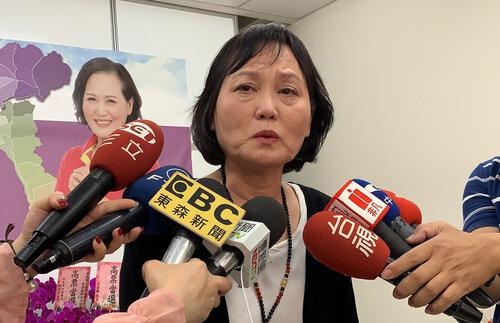 Legislative speaker's wife drops out of Pingtung legislative race