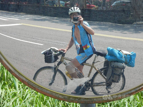 Belgian traveler shares experience of cycling in Taiwan