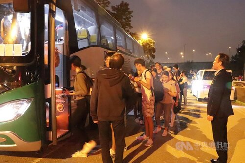 Taiwanese students at HK university to return home due to protests