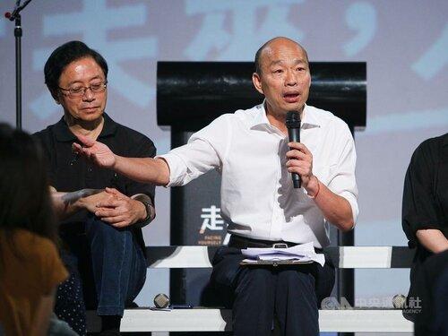 Han says no to cross-strait peace treaty unless Beijing renounces force