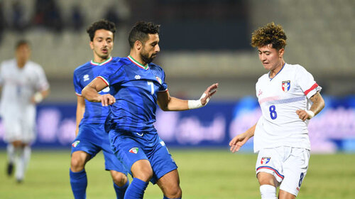 Taiwan loses 9-0 to Kuwait in World Cup football qualifier