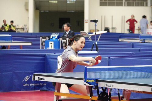 Taiwan duo lose in women's doubles final at Austrian Table Tennis Open