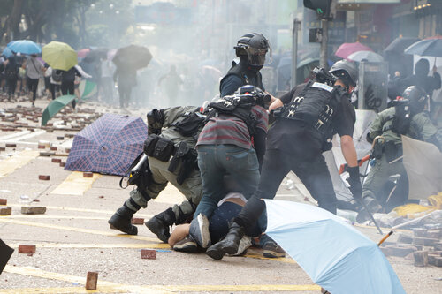 More than 60% of Taiwanese students in HK return due to unrest