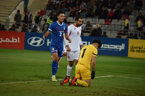 Taiwan loses 5-0 to Jordan in World Cup football qualifier