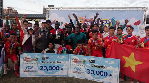 Gambian team wins immigrant football tournament