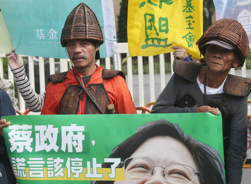 Tao people want nuclear waste off Orchid Island without delay