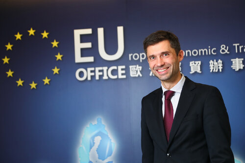 EU envoy looking to attract more Taiwan investment to Europe