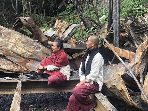 U-Theatre calls for donations to rebuild destroyed cabin