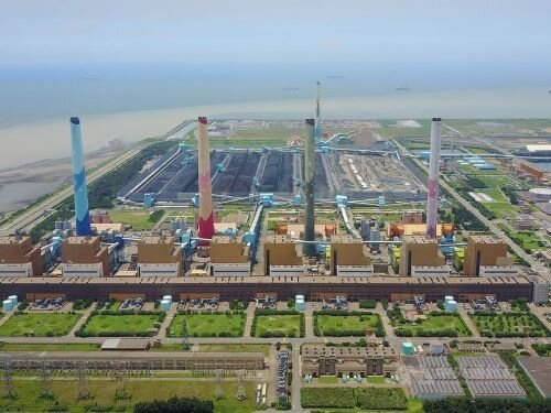 Taichung Power Plant fined for exceeding coal consumption limit