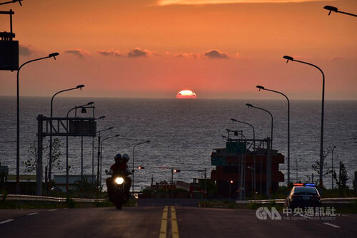 Miaoli road voted most scenic highway in Taiwan
