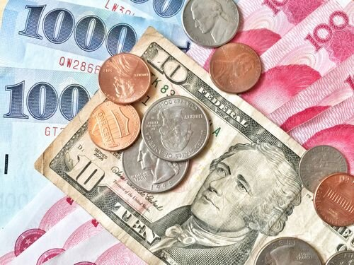 U.S. dollar closes lower on Taipei forex market