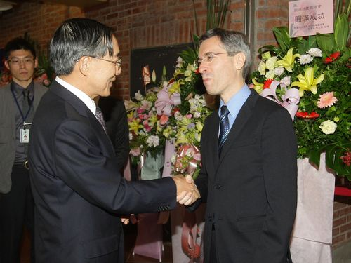 Outgoing Europe official impressed by Taiwan's democracy