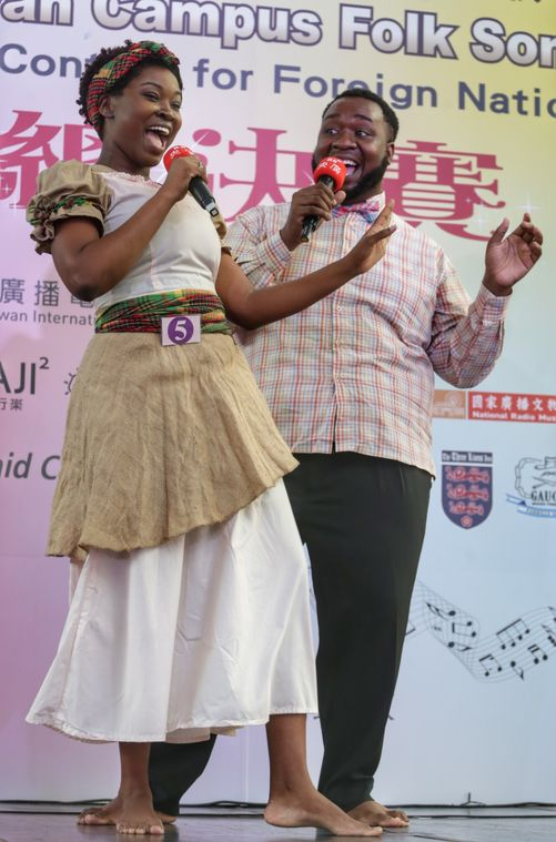 International singers compete in folk song contest in Taipei