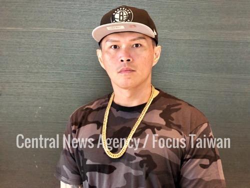 Taiwanese rapper Dwagie (大支)