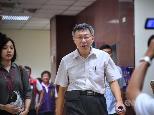 Taipei Mayor Ko Wen-je (CNA file photo)