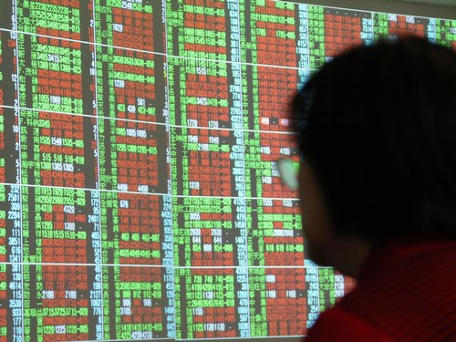 Taiwan shares open lower