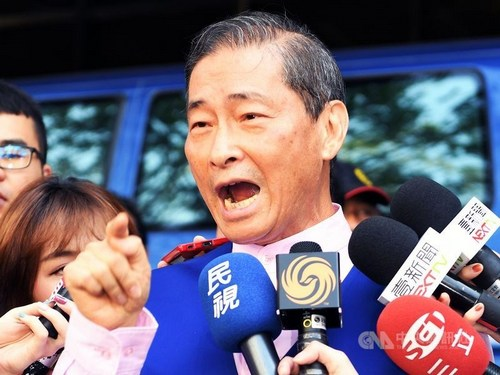 Chinese Unity Promotion Party (CUPP) founder Chang An-le (張安樂, CNA file photo)