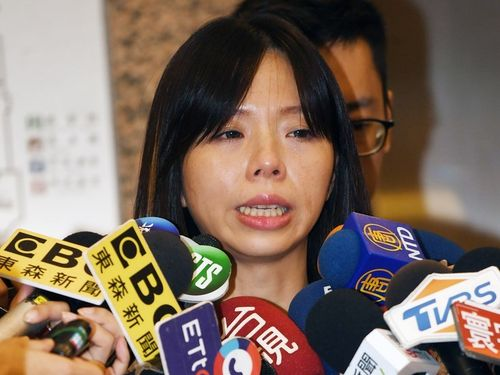New Power Party lawmaker Hung Tzu-yung