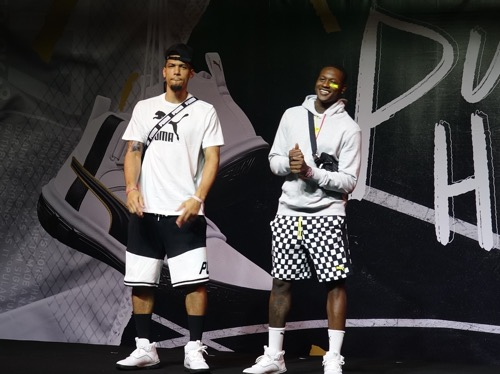 Danny Green (left) and Terry Rozier