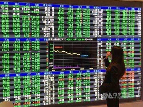 Taiwan shares close down 0.44%
