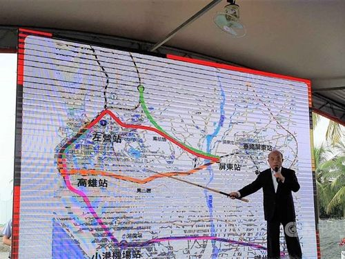 Government to extend high-speed rail to Pingtung: Premier