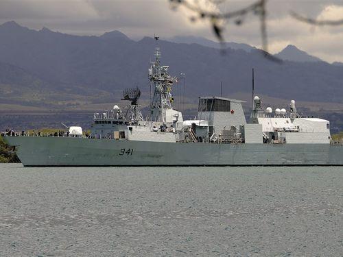 HMCS Ottawa / Image taken from Wikipedia Commons; Public domain files