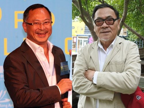 Johnnie To (left) and Wang Toon (right)